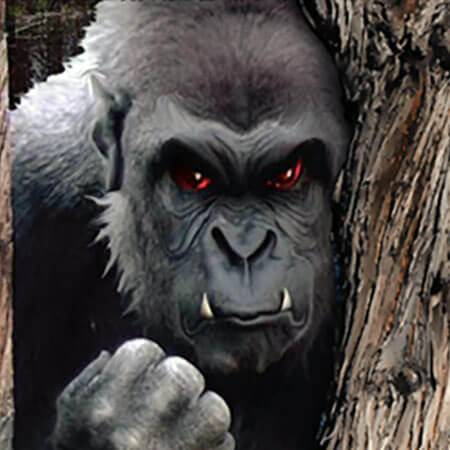 Big Red Eye - NJ Bigfoot