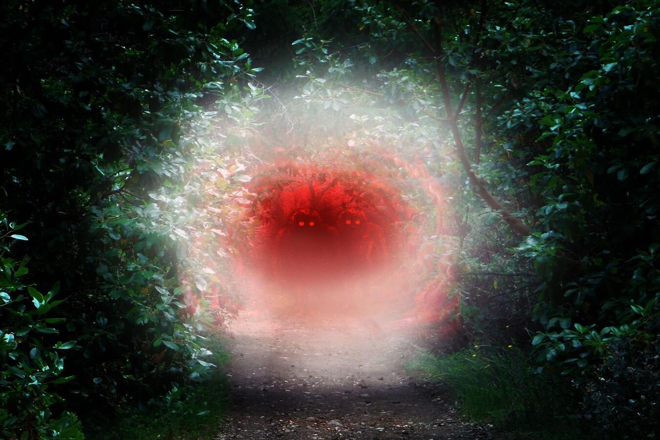 interdimensional portal entities