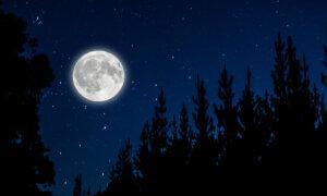 Full moon over SOHA